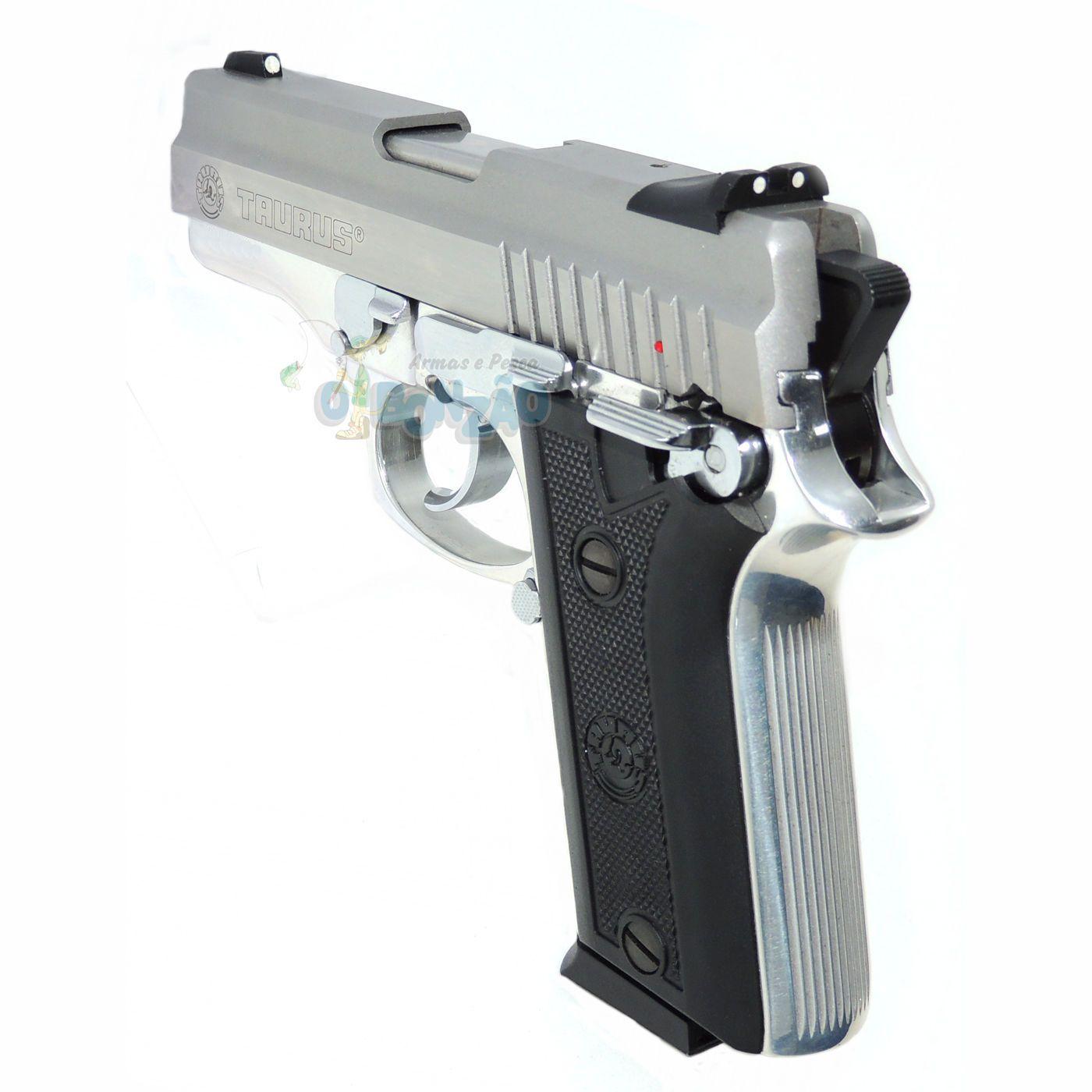 ... Pistola Taurus PT 938 - Cal. 380 Auto 15+1 Tiros Inox Fosco ...