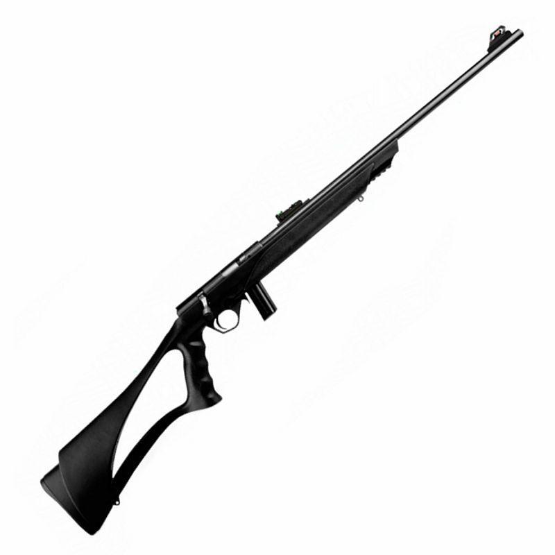 """Rifle CBC 8122 Bolt Action - Cal. 22LR - 10 Tiros - Cano 23"""" - Coronha PP - Oxidado"""