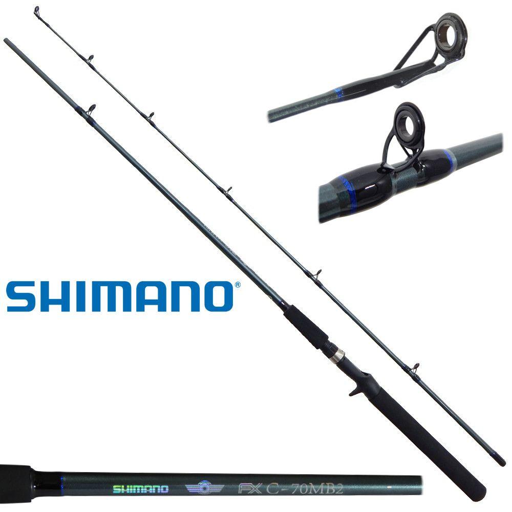 Vara Shimano FX C70MB2 - 8-17lb - 2,10m - Carretilha - 2 Partes