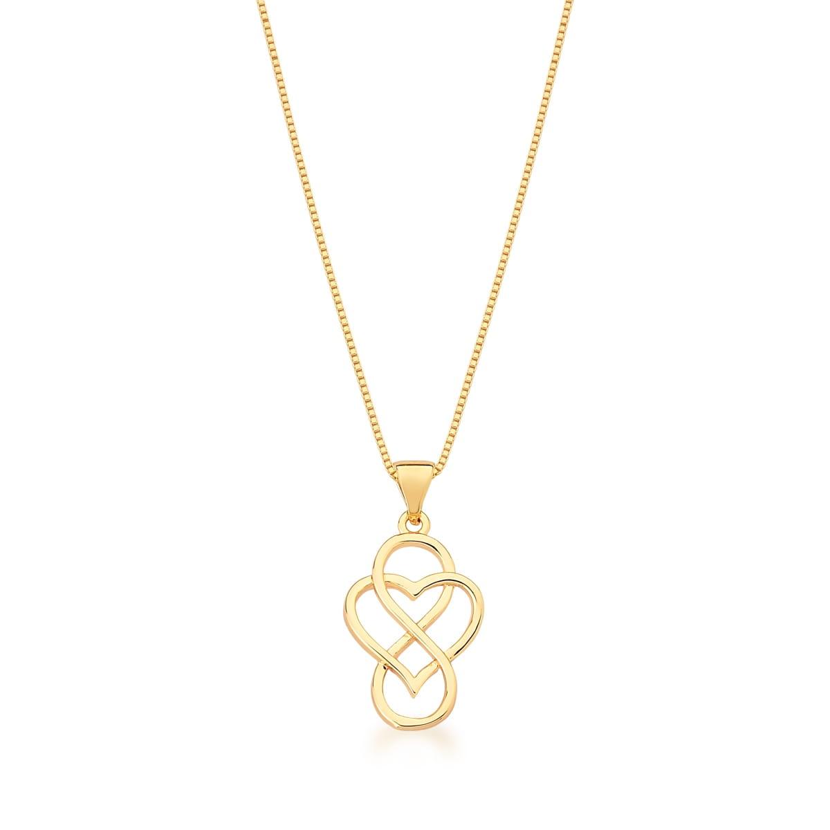 Conjunto símbolos infinito e coração
