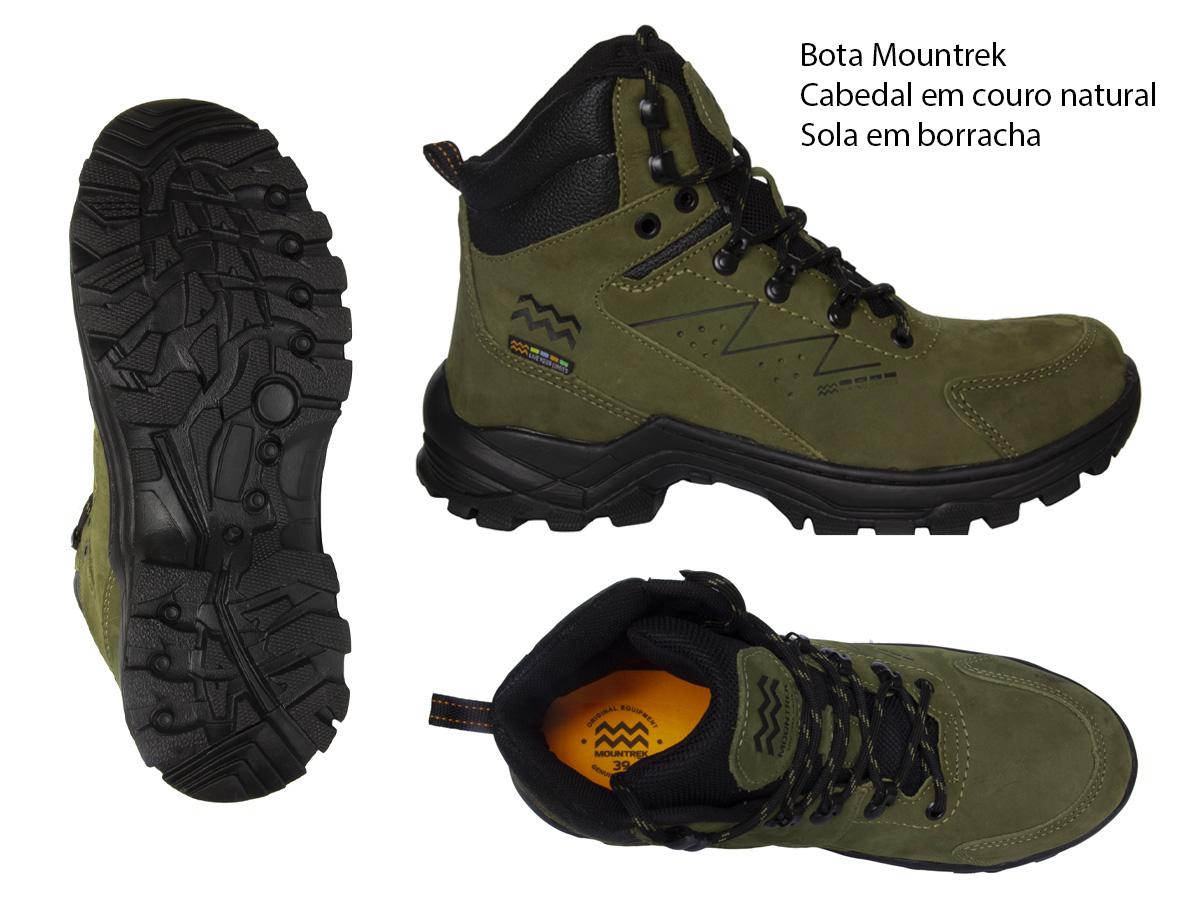 Bota Adventure Mountrek 983 Couro Masculino