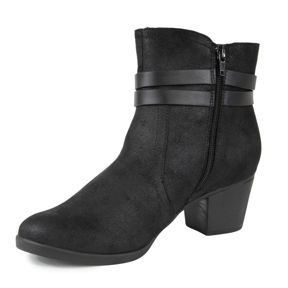 BOTA PICCADILLY  CANO CURTO 150123 NBK RIS PTO/SUEDE PTO