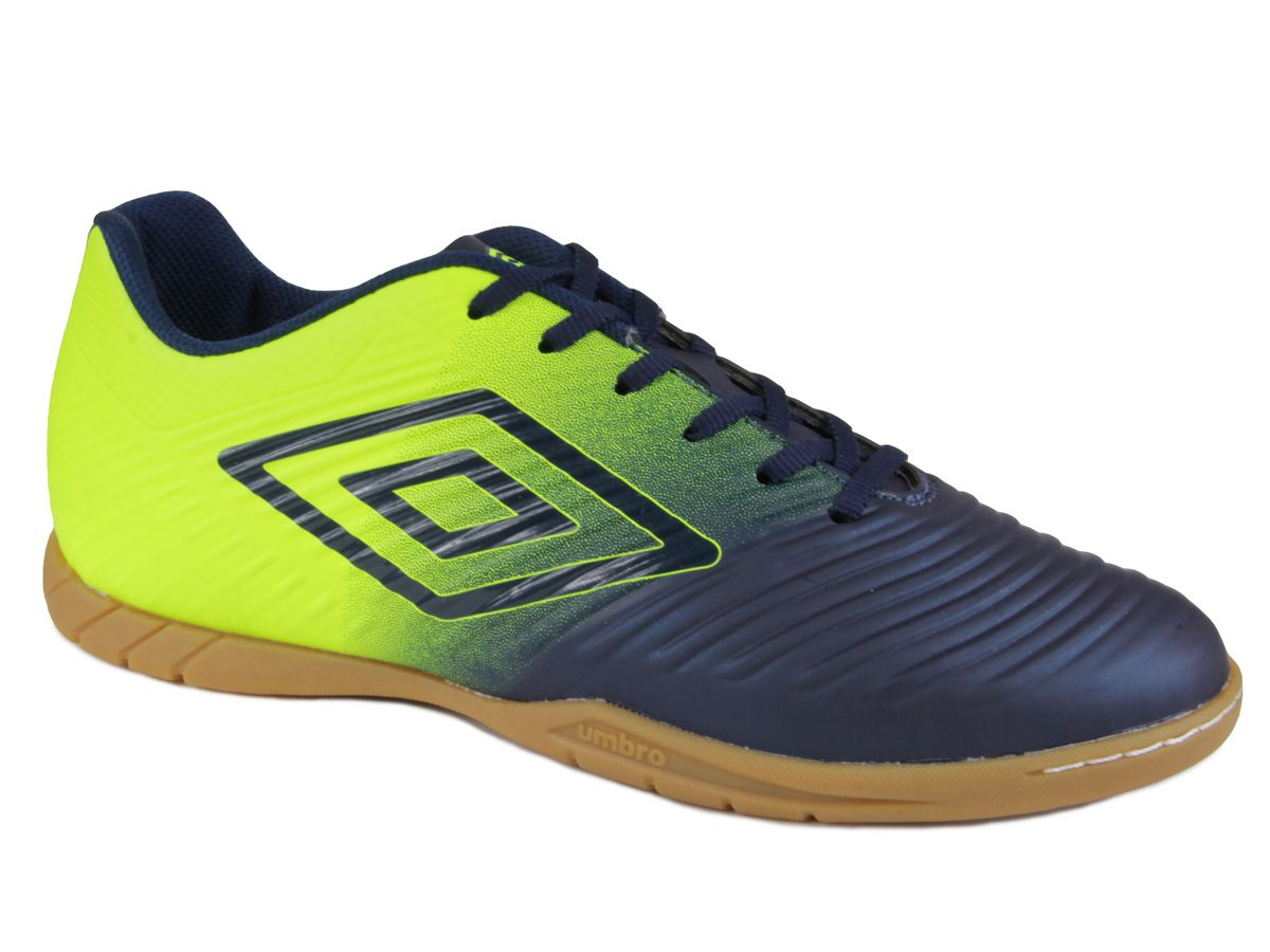 CHUTEIRA INDOOR UMBRO AD FIFTY III - marinho/lima