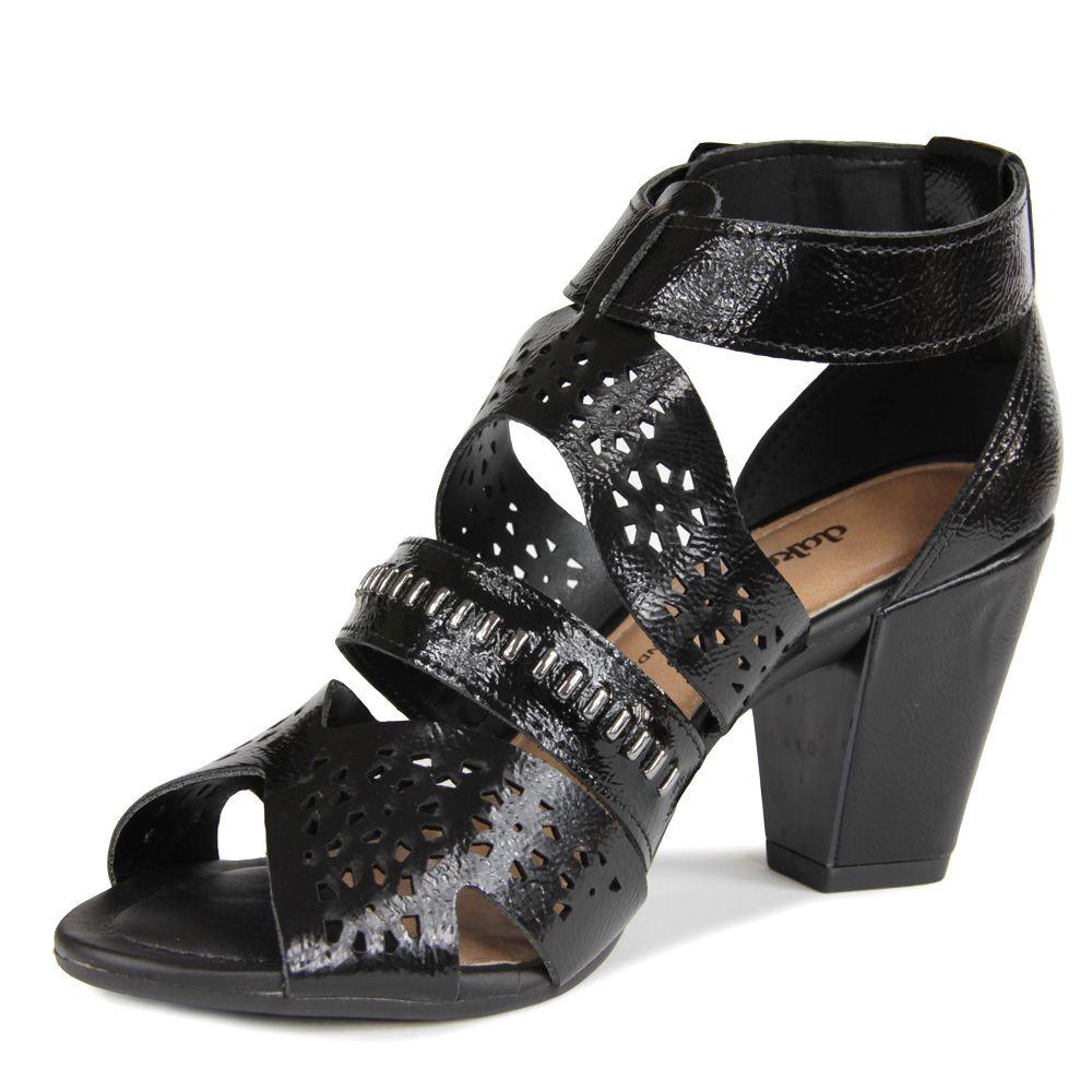 Sandália Dakota Z5614 Salto grosso Feminino - preto