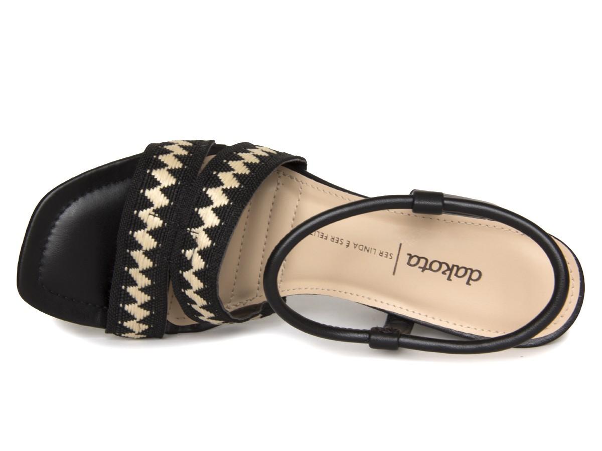 Sandália Dakota Z7072 Salto grosso Feminino