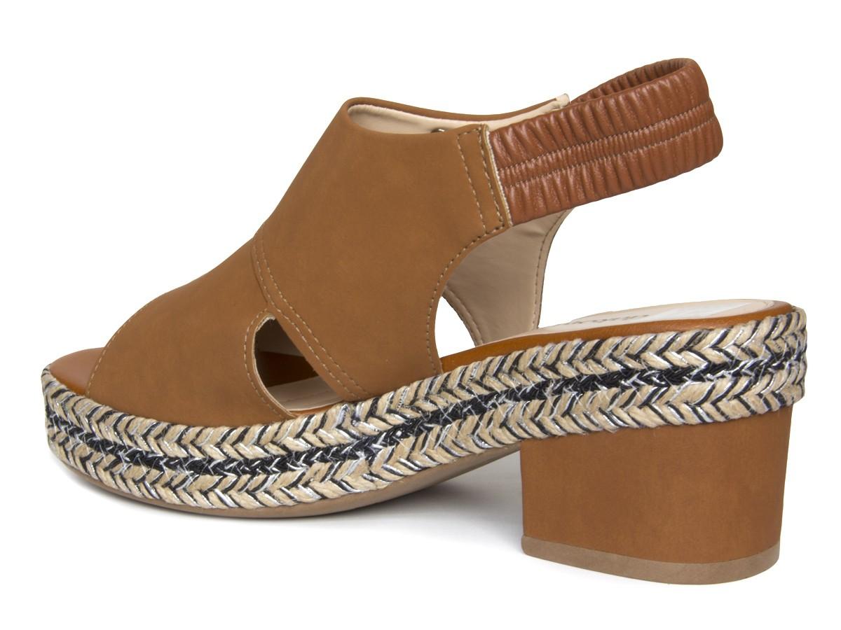 Sandália Dakota Z7142 Salto grosso Feminino