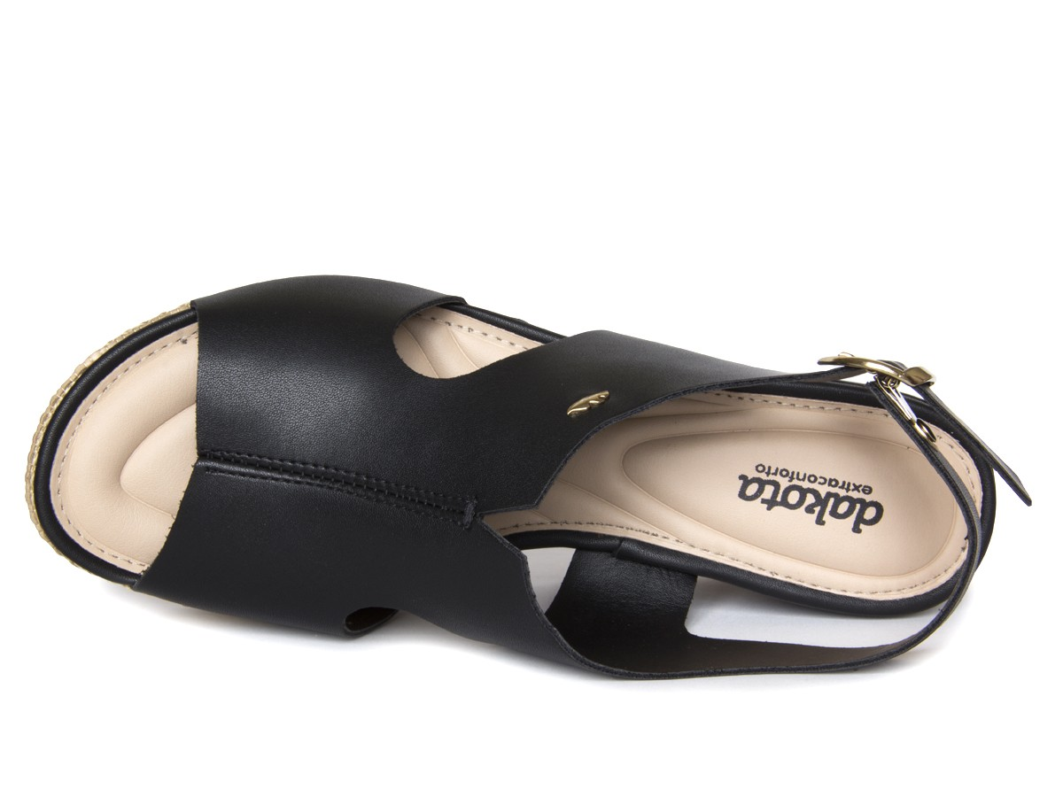 Sandália Dakota Z7342 Salto Anabela Feminino