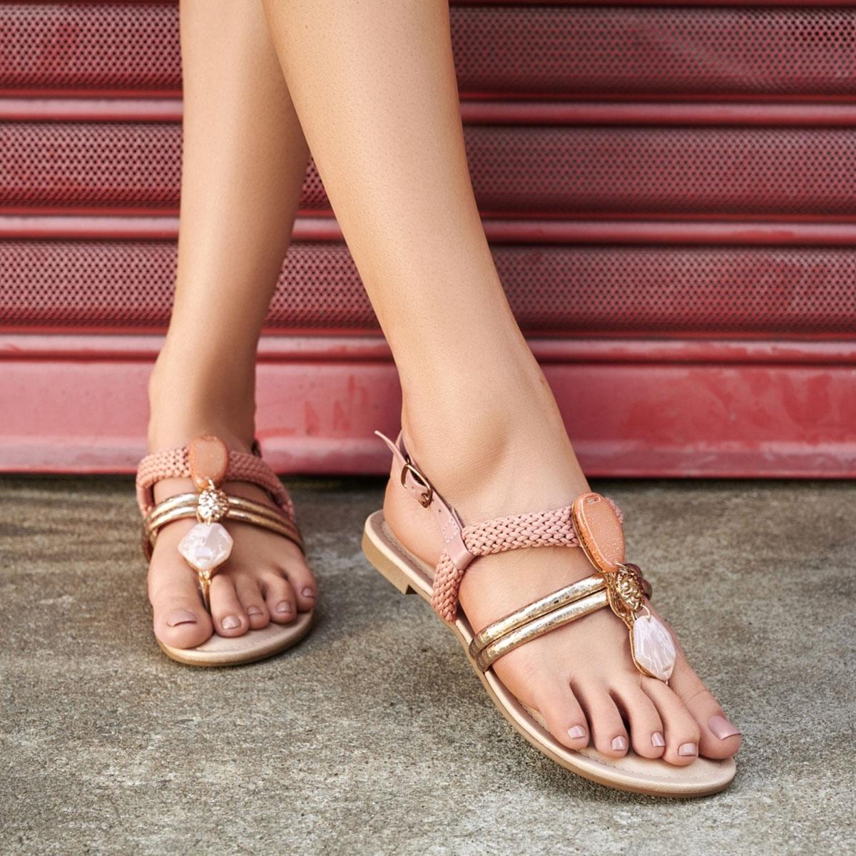 Sandalia Dakota Z8193 Feminino
