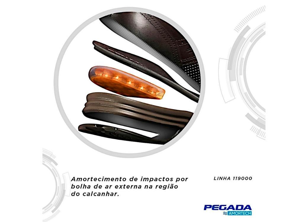 Sapatenis Pegada nobuck 119004-06 Masculino