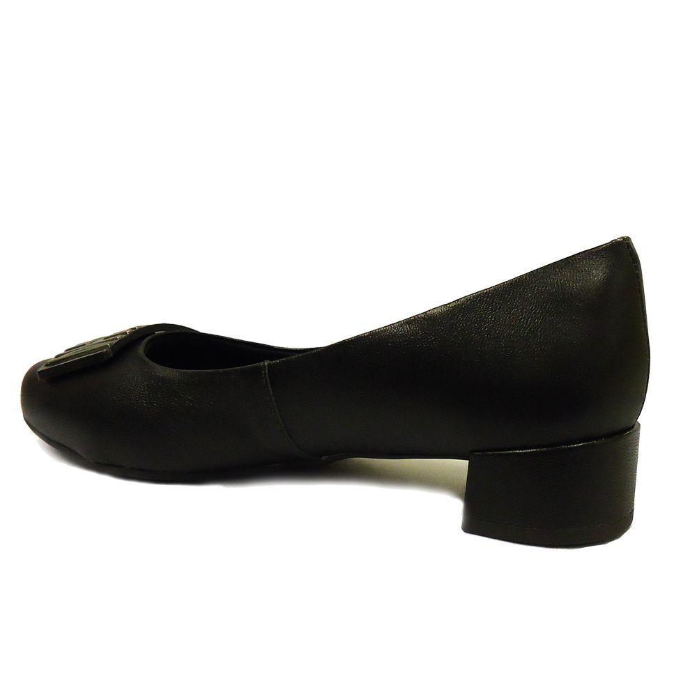Sapato Casual Usaflex Caprina V4606 - Preto