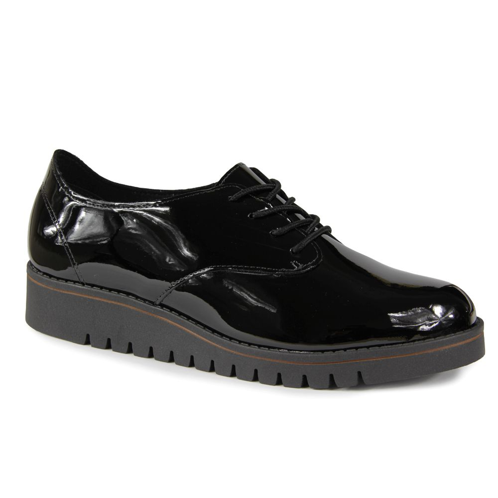 Sapato Oxford Beira Rio Feminino 4174.419 - Preto
