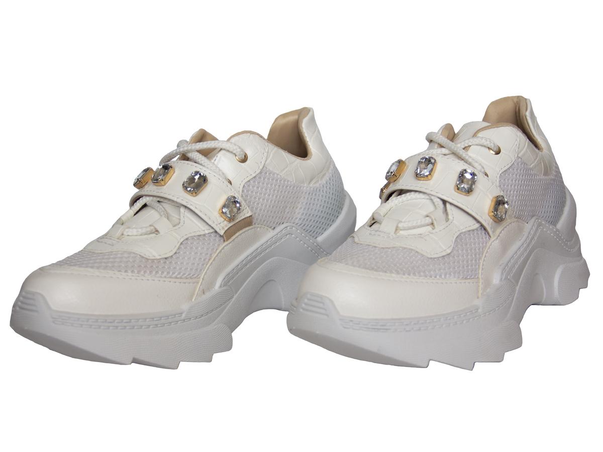 Tenis Casual Sneaker Azillê 50009.64645 Feminino