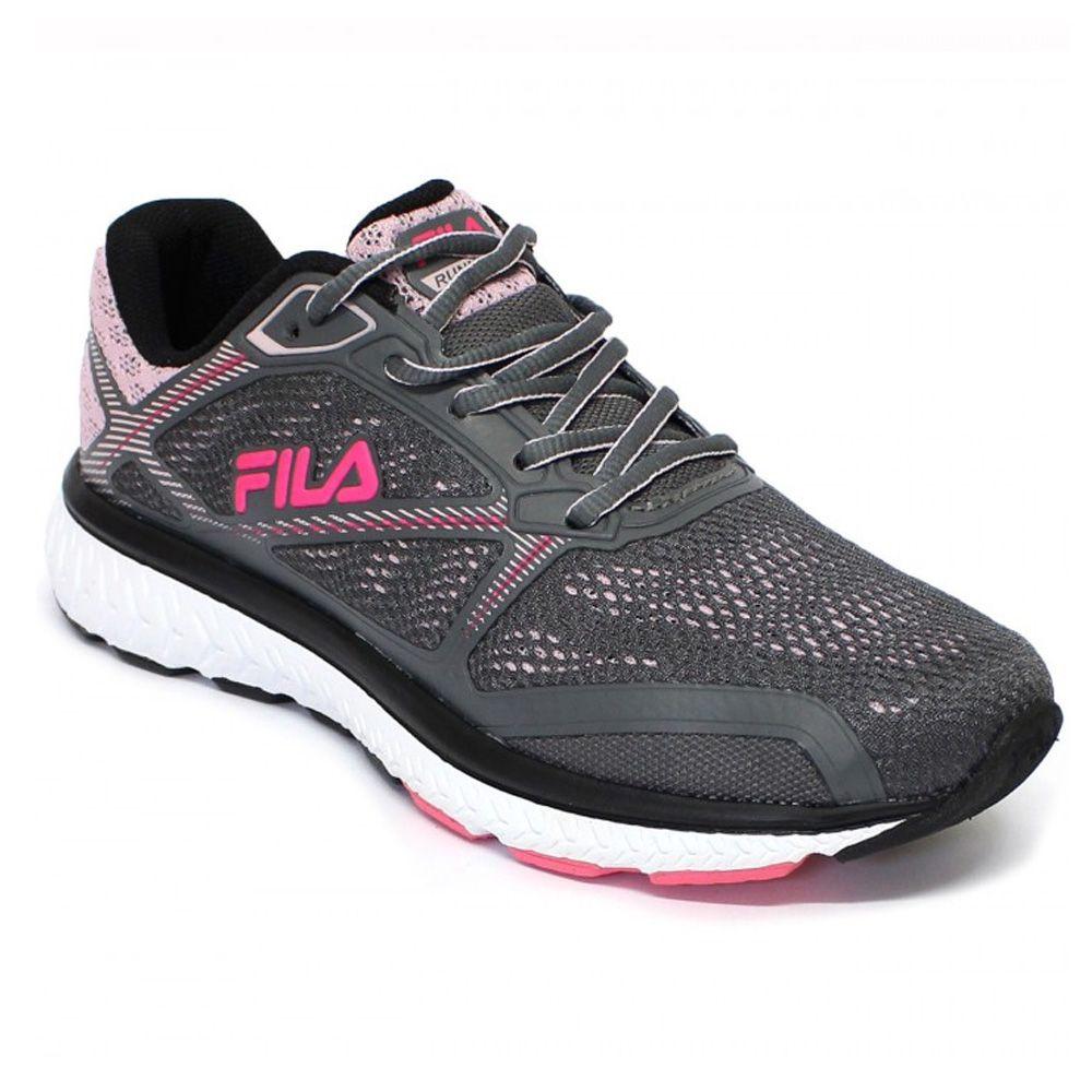 f1c9d8e7e7a Tênis Fila Thunder Feminino grafite rosa - Loja Ito