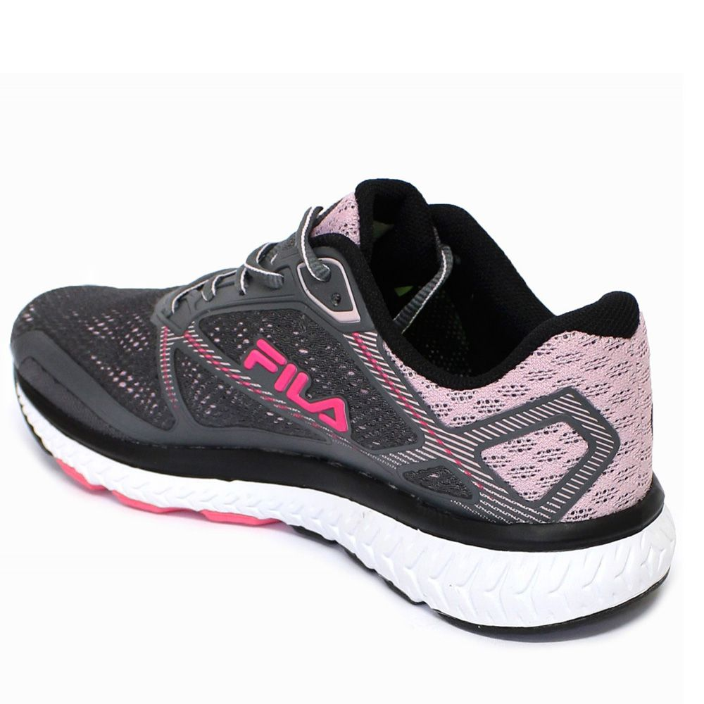 319496bc7 Tênis Fila Thunder Feminino grafite rosa - Loja Ito