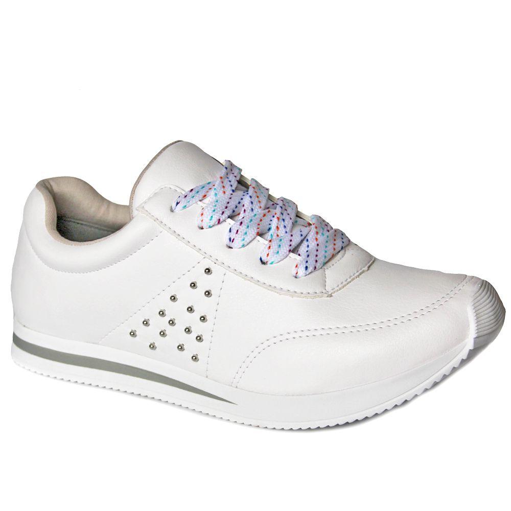 ebe13d618c Tenis Jogging Via Marte Feminino 18-18305 - branco - Loja Ito