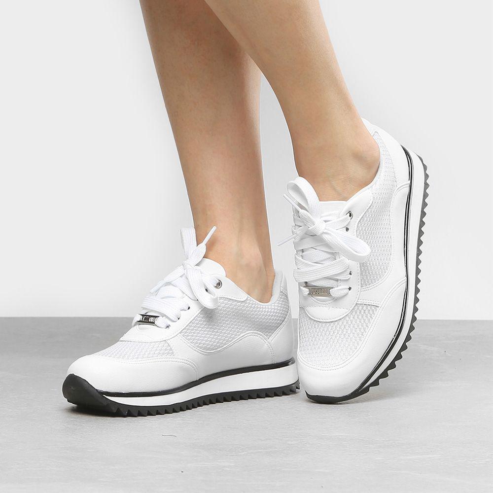 Tênis Vizzano Jogging Feminino 1234.121 - Branco