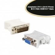 Adaptador DVI-I ( Dual Link Digital e Analogica) 24+5 X VGA Femea Empire