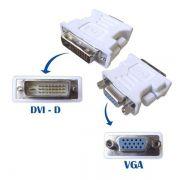 Adaptador DVI M  X  VGA 24+1 Branco