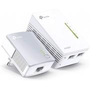 Adaptador Powerline KIt TP-Link TL WPA4220 KIT  WI-FI de 300MBPS
