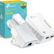 Adaptador Powerline TP-Link KIt Wi-Fi AV600 - TL WPA4220 KIT