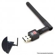 Antena Receptora Wireless Wifi USB 600 Mbps Para Pc - Feir