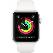 Apple WATCH S3 38 SL AL WHT SP CEL - MTGN2BZ/A