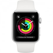 Apple WATCH S3 38 SL AL WHT SP GPS - MTEY2BZ/A