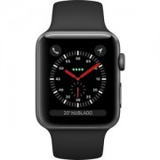 Apple WATCH S3 42 SG AL BLK SP CEL - MTH22BZ/A