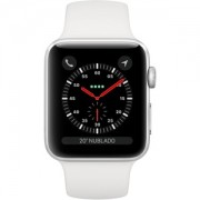 Apple WATCH S3 42 SL AL WHT SP CEL - MTH12BZ/A