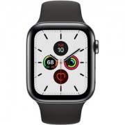 Apple WATCH S5 40 SB SS BLK SP CEL - MWX82BZ/A