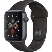 Apple WATCH S5 40 SG AL BLK SP CEL - MWX32BZ/A