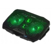 Base para Notebook 17,3´  Gamer Led Verde Dex - DX-006*