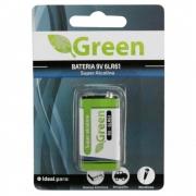 Bateria 9V Alcalina 6LR61 Green Chip Sce - 013-9701