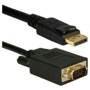 Cabo Displayport x VGA 1,8m*