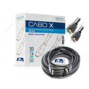 CABO HDMI 20M 1.4 FULL HD 1080 3D COM FILTRO*