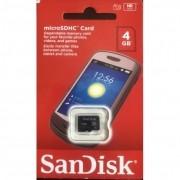 Cartão de memória SDHC 4 GB Sandisk SDSDB-004G