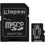 CARTAO MICRO SD 64GB KINGSTON CANVAS SELECT PLUS CLASS 10 - SDCS2/64GB