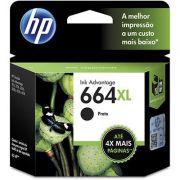 CARTUCHO DE TINTA HP F6 V31AB (664XL) PRETO*