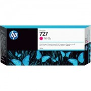 CARTUCHO PLOTTER HP 727 MAGENTA 300 ML UK