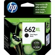 HP Inc. CARTUCHO TINTA HP 662XL PRETO CZ105AB - CZ105AB