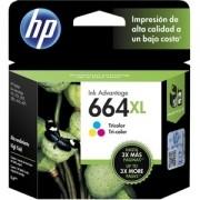 CARTUCHO TINTA HP 664XL - TRICO LOR -F6V30AB