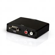 Conversor De Vga Para Hdmi 1080p  com Audio R/L  - Vga X hdmi