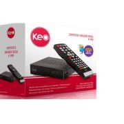 Conversor Digital De Tv Com Gravador K 900 Keo*