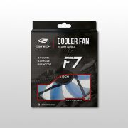 Cooler C3 Tech  FAN 12 cm F7-L100 BL Storm LED C3T Azul