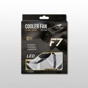 Cooler C3 Tech  FAN 12 cm F7-L130BL STORM 30LED C3T Azul