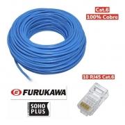 Keystone Rj45 Femea Cat6 Furukawa