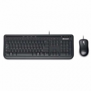 Kit multimidia wired 600 (teclado/mouse) preto