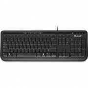 Kit Teclado e Mouse Microsoft - Wired 600 ANB-00005 - Desktop 600