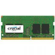 Memória 4GB DDR4 2400MHZ SODIMM CRUCIAL CT4G4SFS824A