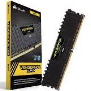 Memória Corsair Vengeance LPX, 8GB, 2400MHz, DDR4, CL16, Preto - CMK8GX4M1A2400C16
